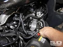 M5lp 1106 06 O 2012 Boss 302 Intake Test Throttle Body Swap