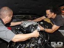 M5lp 1106 07 O 2012 Boss 302 Intake Test Intake Swap