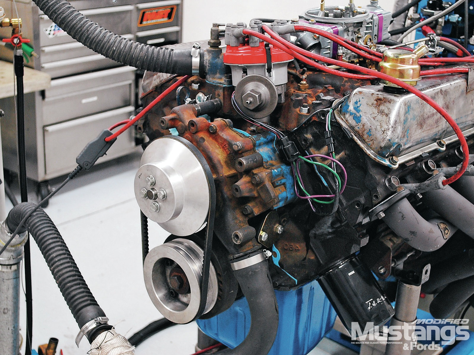 460 Big Block Build Dyno Test