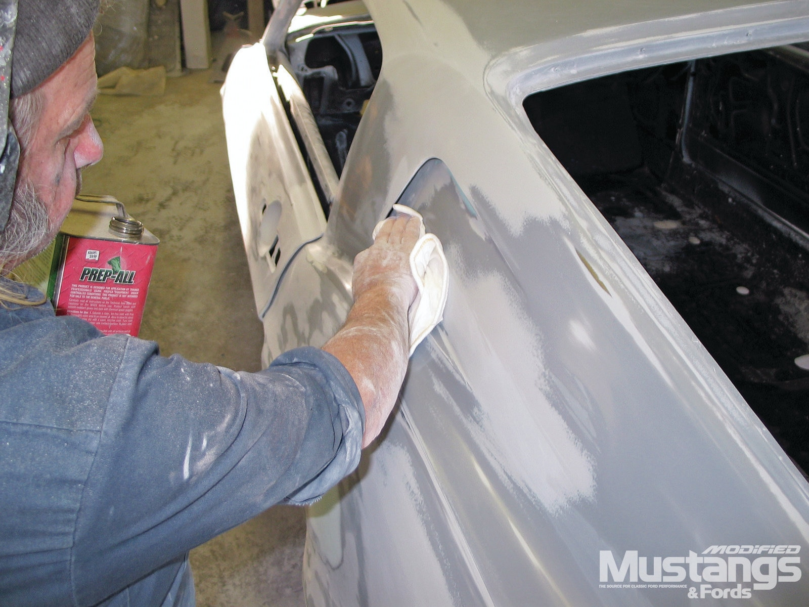 Project Generation Gap Paint Wiping