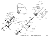 mump_1004_07_o mustang_steering_columns two_piece_top_collar