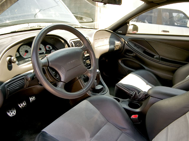 2003 Svt Cobra Interior