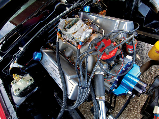 1995 Mustang Ihra Indy Car Engine
