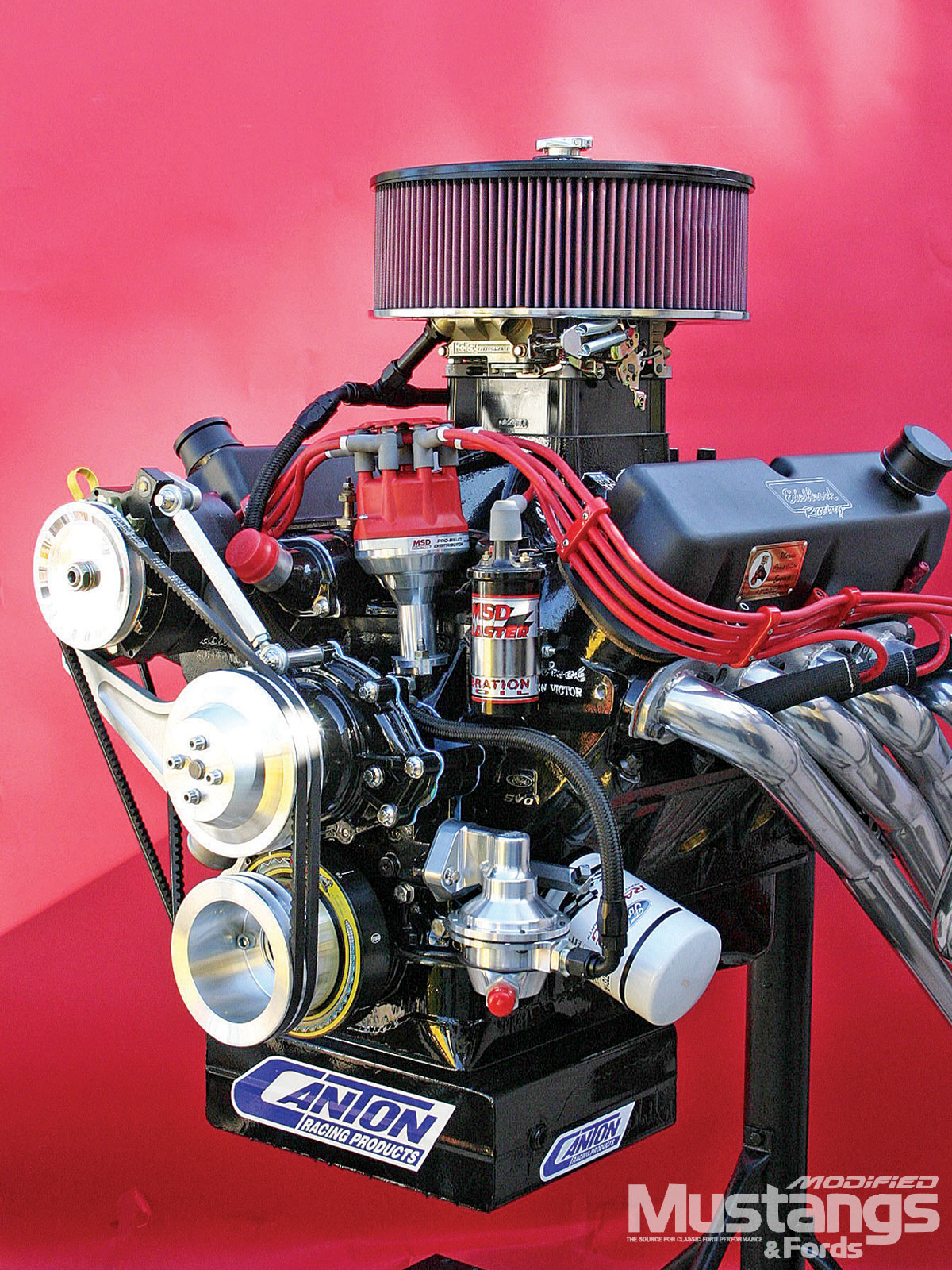 Edelbrock Emc Engines Project