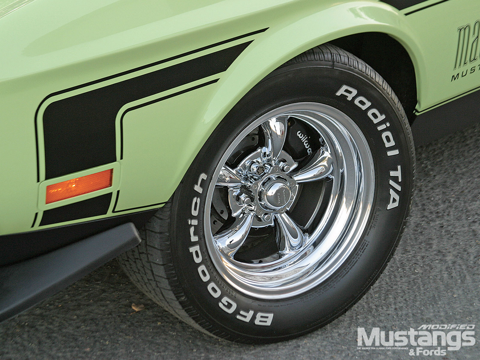 1971 Ford Mustang Mach 1 Tires And Wheels