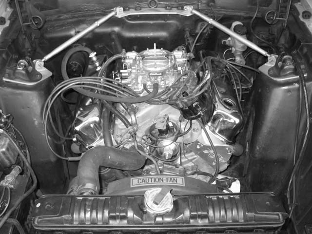 Ford Mustang Full Engine View