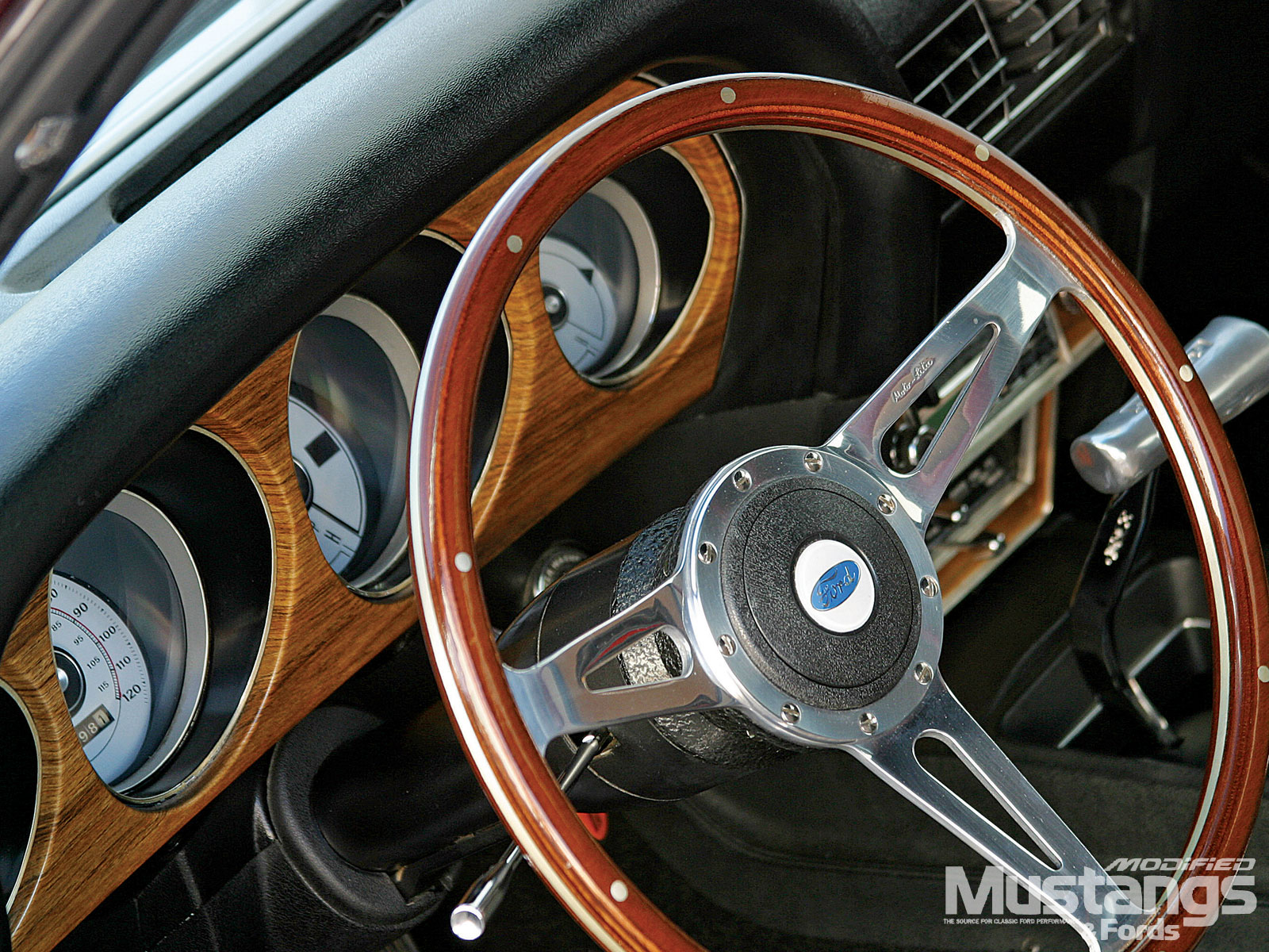 1969 Ford Mustang Mach 1 Sterring Wheel