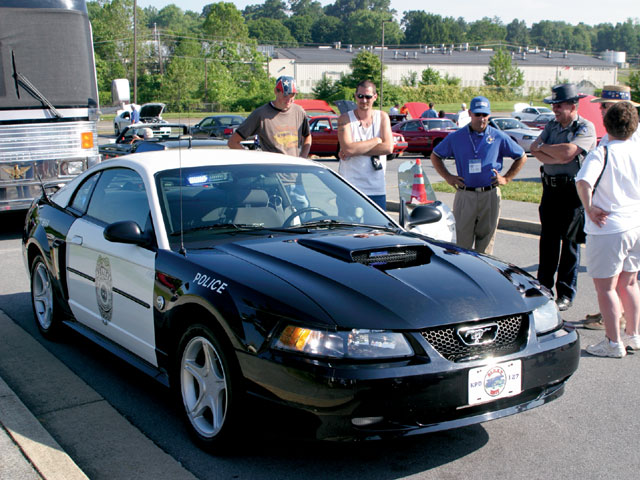 Mca National Meet Mustang Cop Car