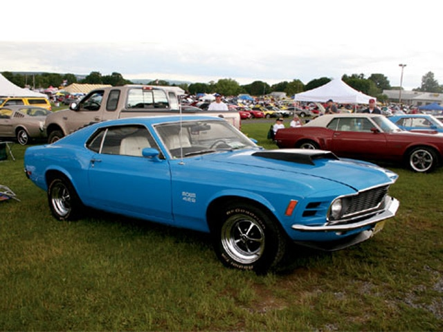 All Ford Nationals Mustang Boss