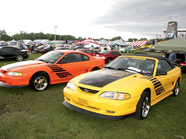 All Ford Nationals Boss Shinoda Cars