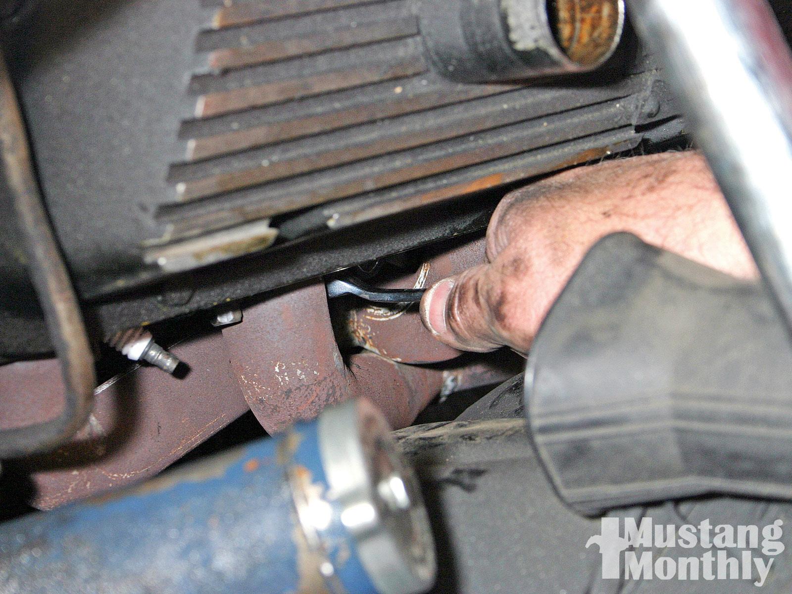 Mump 1006 06 O Dark Side Long Tube Headers Header Flange Disconnection