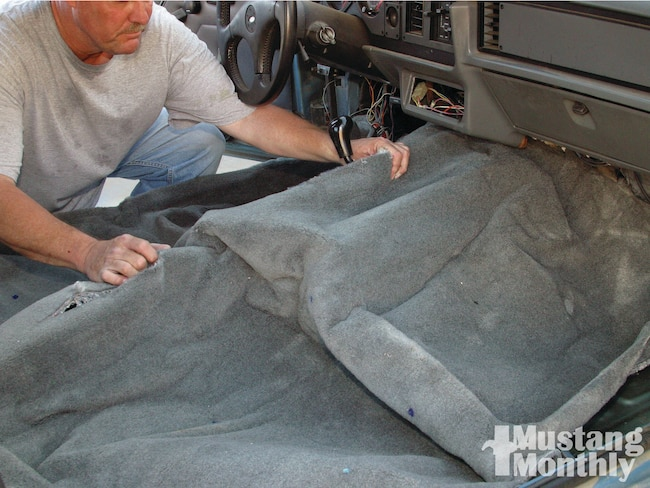 Mump 1109 How To Replace Fox Body Carpet 000