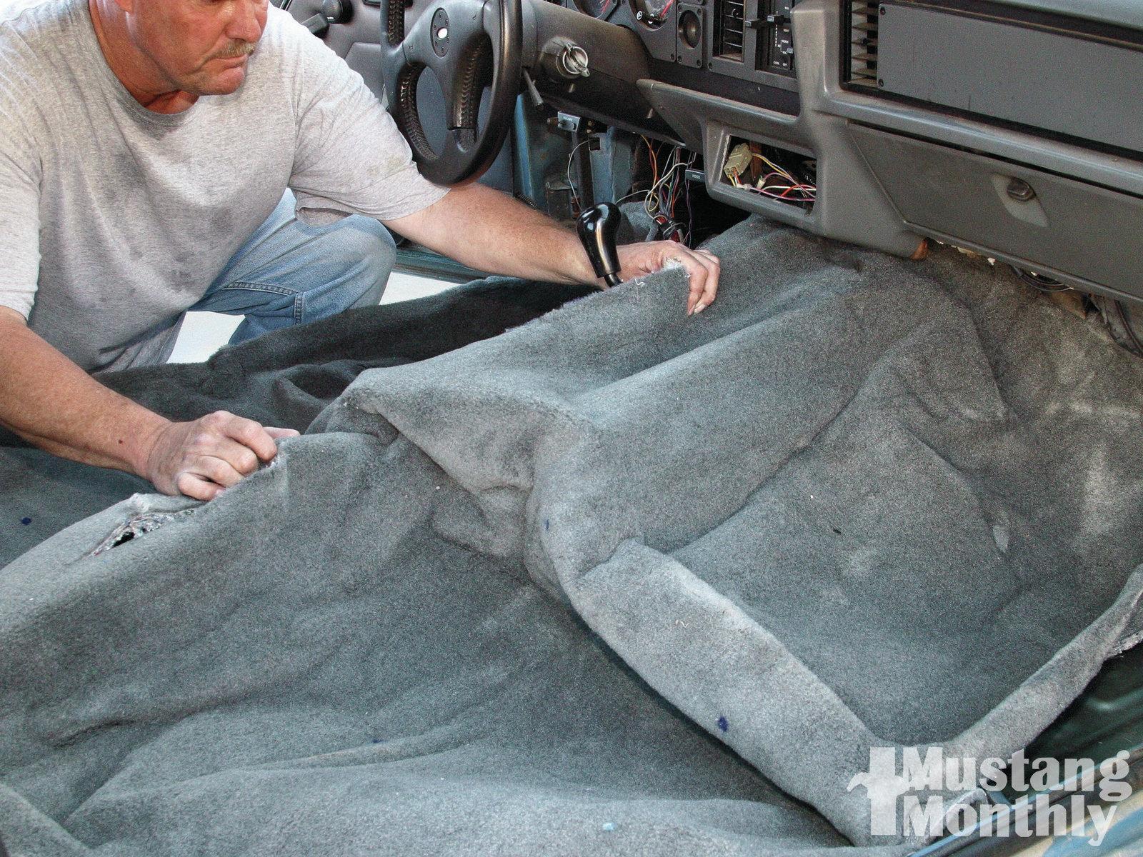 Mump 1109 How To Replace Fox Body Carpet 015
