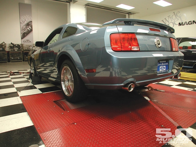 M5lp 0505 02 O 2005 Ford Mustang KN Air Filter Magnaflow After Cat Exhaust Dyno Test