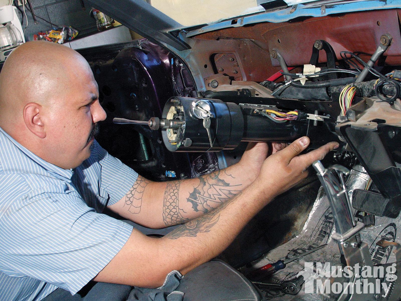 Mump 1007 08 O Air Conditioning Installation Disconnect Steering Column