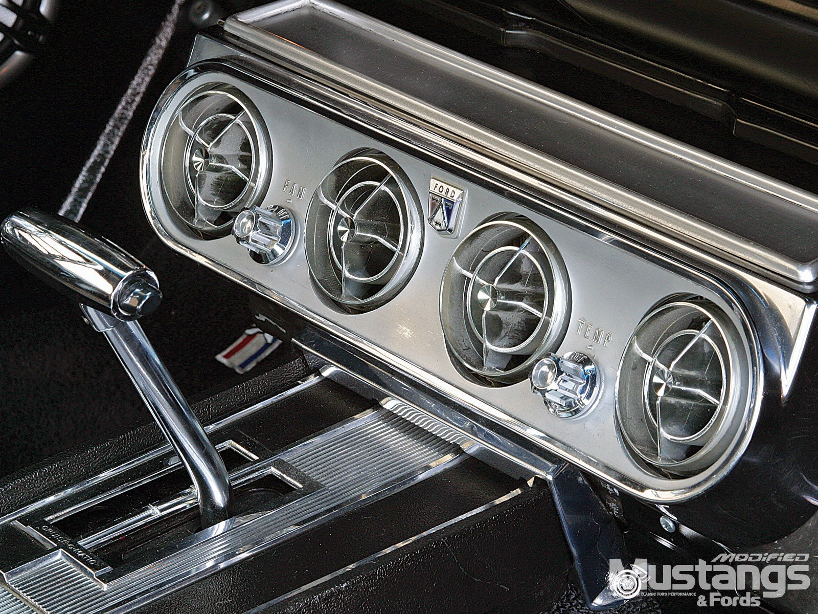 1965 Ford Mustang Ac Guages