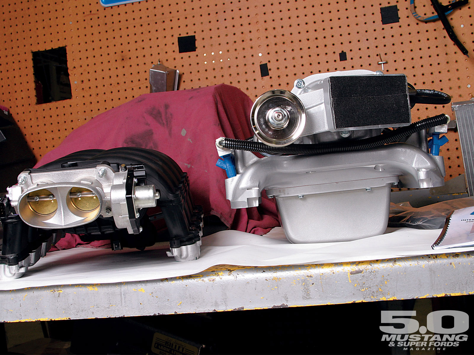 M5lp 0704 09 O Magnacharger Intercooled Supercharger Height Comparison