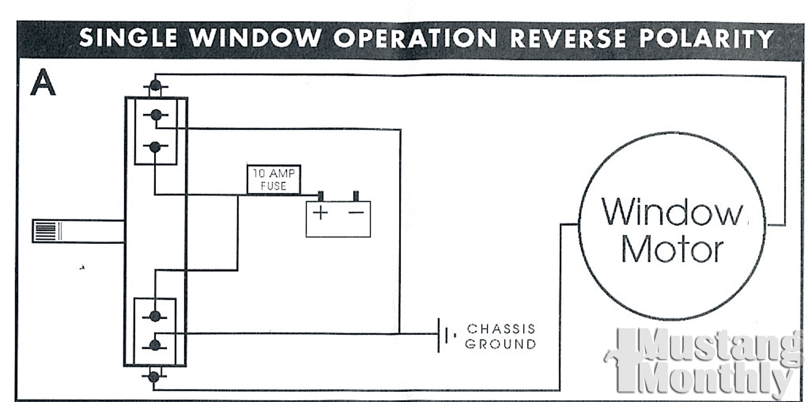 Mump 1107 20+electric Life Power Windows+single Window Wiring Diagram -  Photo 33848284 - Electric Life Power Window Conversion - Install Power  Windows - Project ReclaimMustang 360