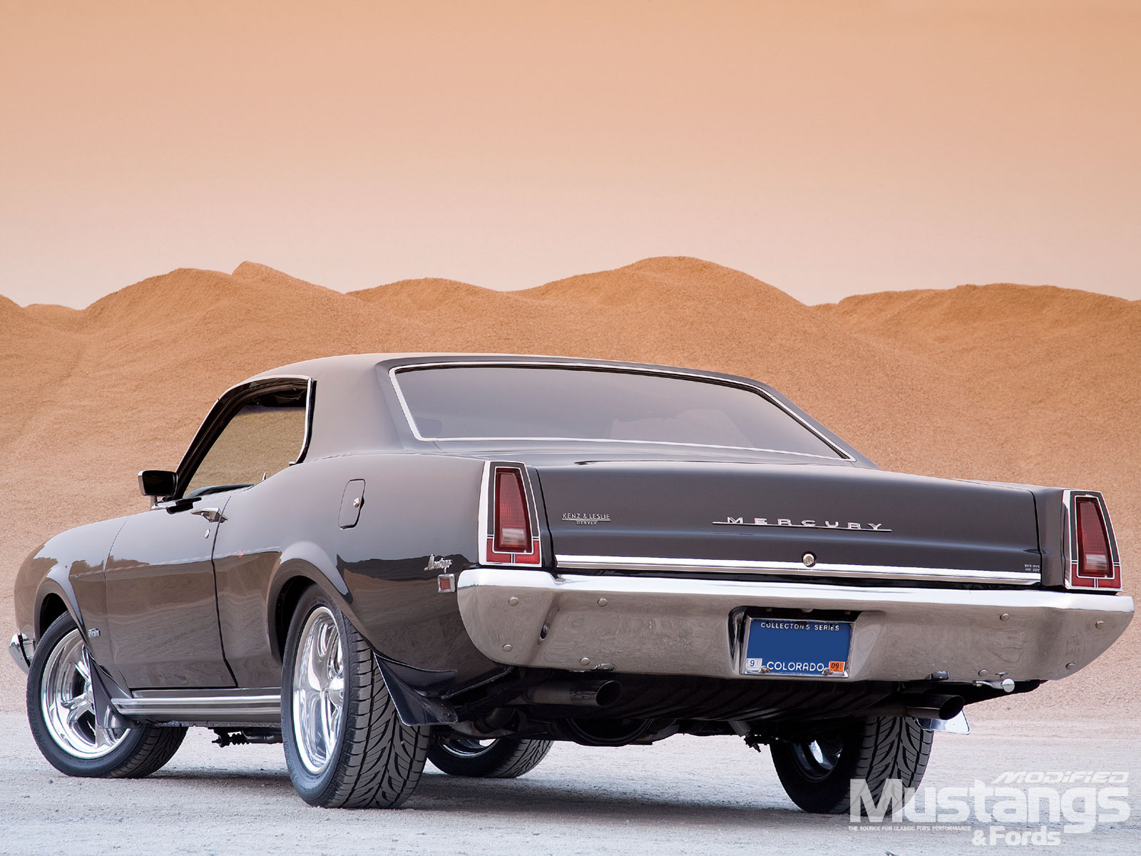 1969 Mercury Montego Back View