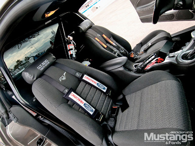 2002 Shelby Tribute Mustang Interior Seats