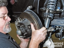 Mump_1009_07_o 1968_ford_mustang Remove_four_piston_kelsey_hayes_disc_brakes