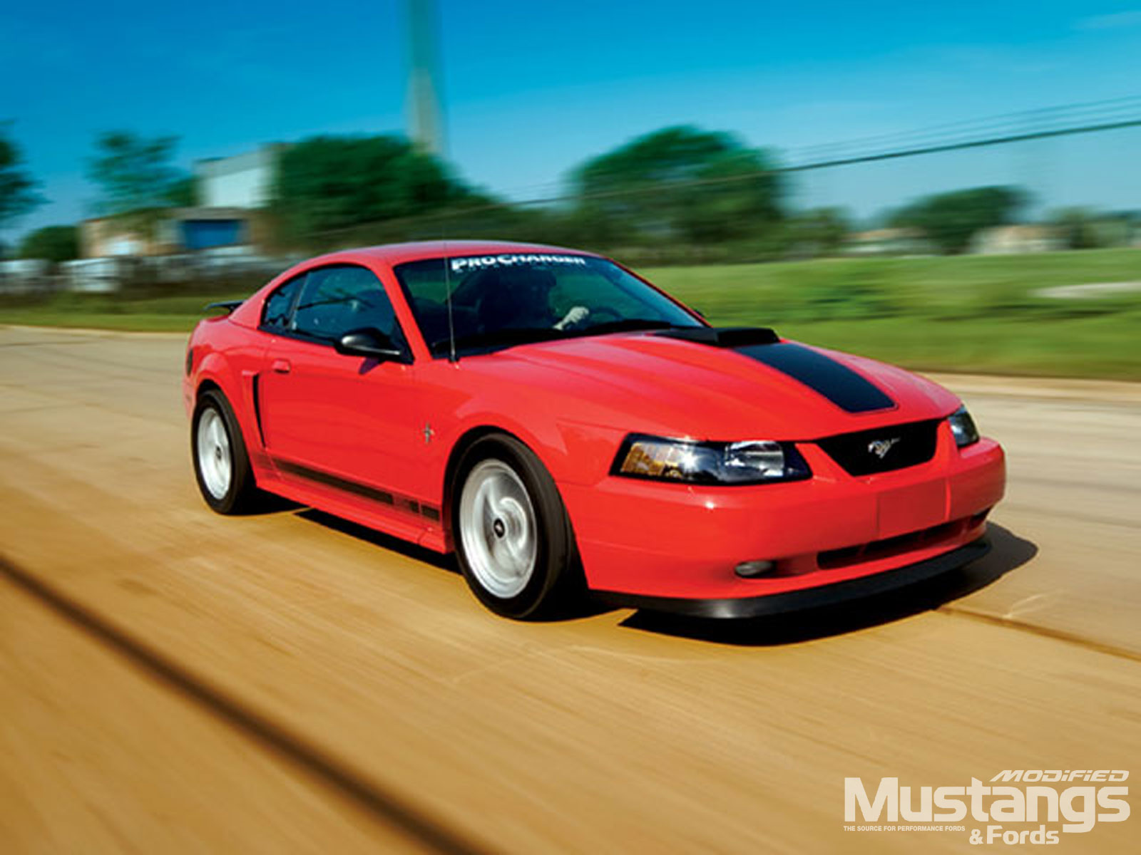 2003 Ford Mustang Mach 1 Side