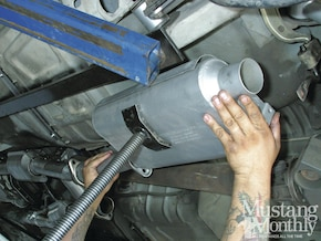 How To - Replace A Fox-Body Exhaust System - Mustang Monthly