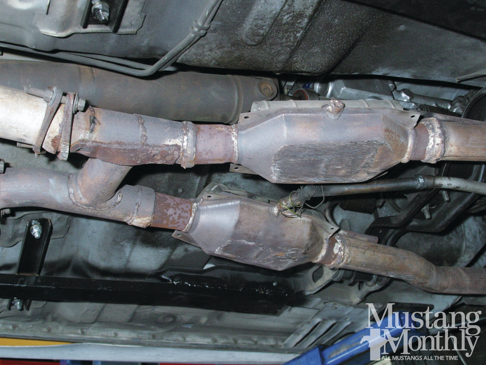 Mump 1111 How To Replace A Fox Body Exhaust System 002