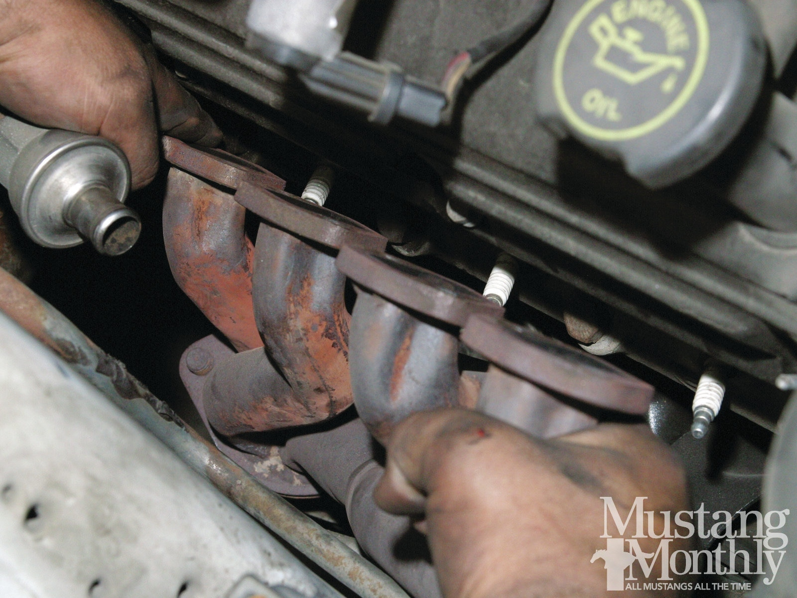 Mump 1111 How To Replace A Fox Body Exhaust System 014