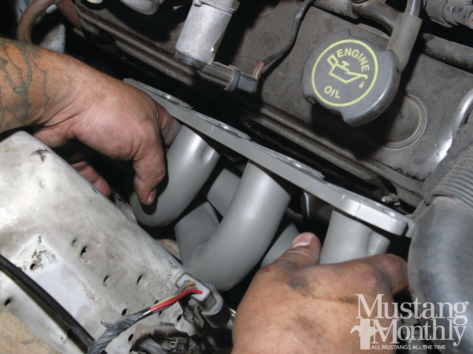 Mump 1111 How To Replace A Fox Body Exhaust System 016