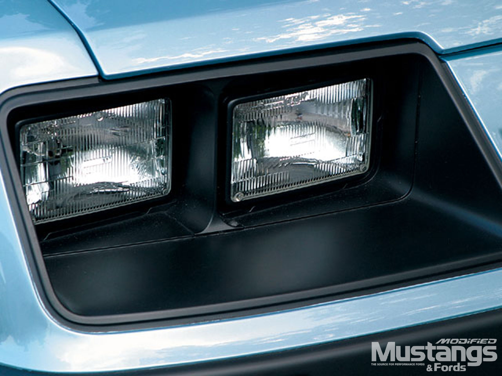 1985 Ford Mustang Gt Headlights