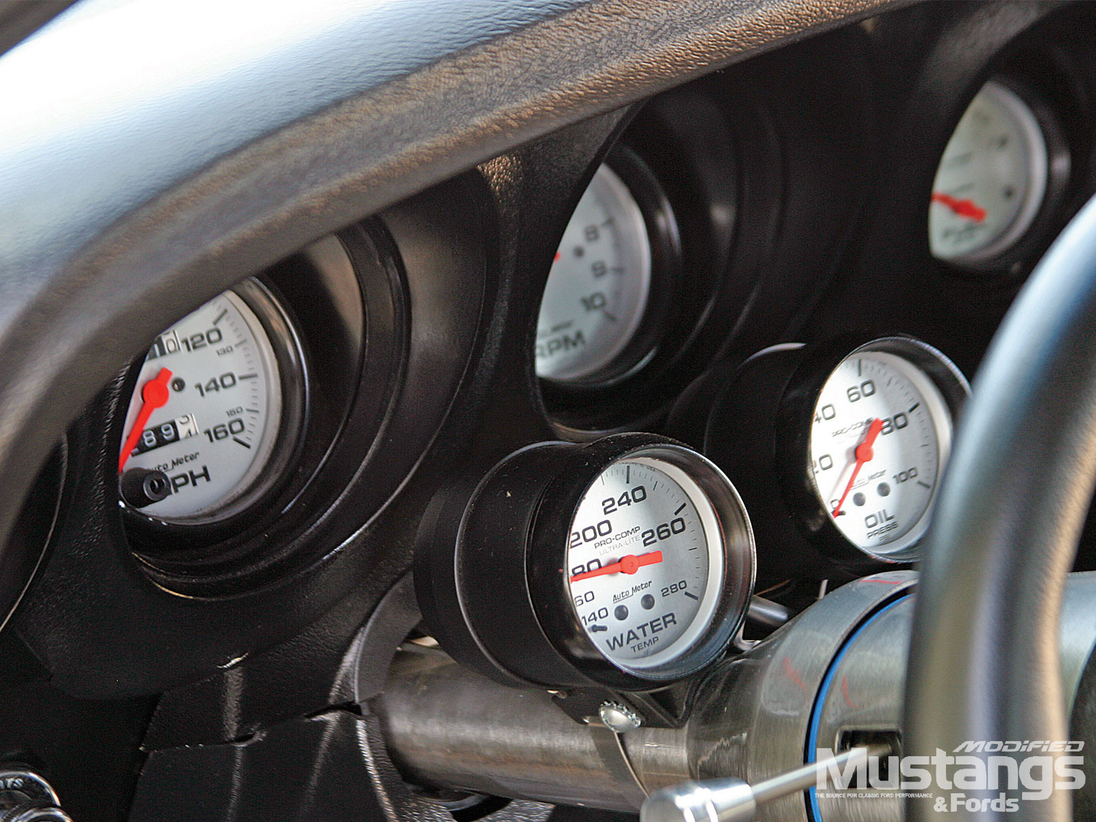 1969 Ford Mustang Gt Sportsroof Gauges