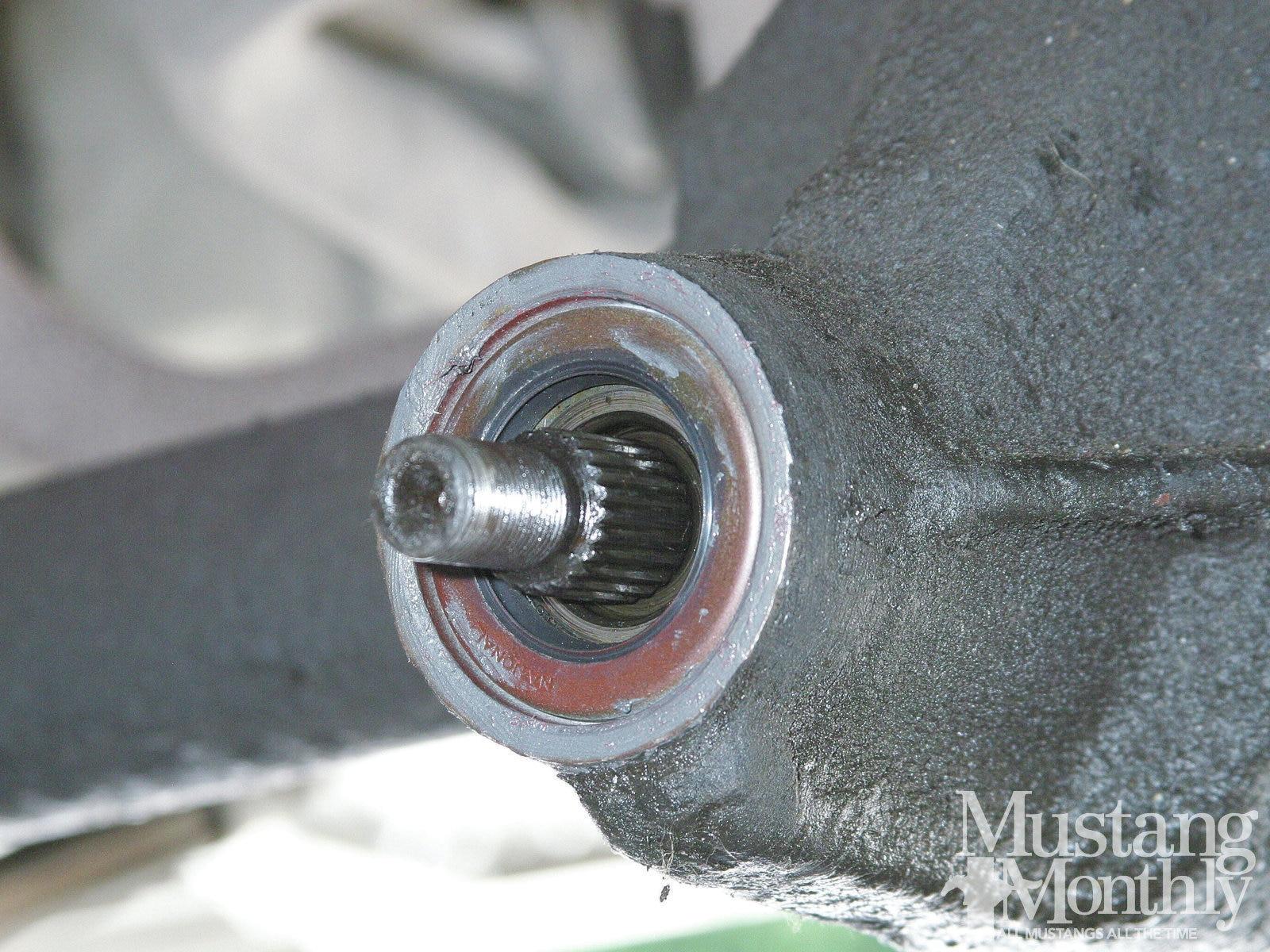 Mump 1112 13 Replace Axle Seals Gaskets