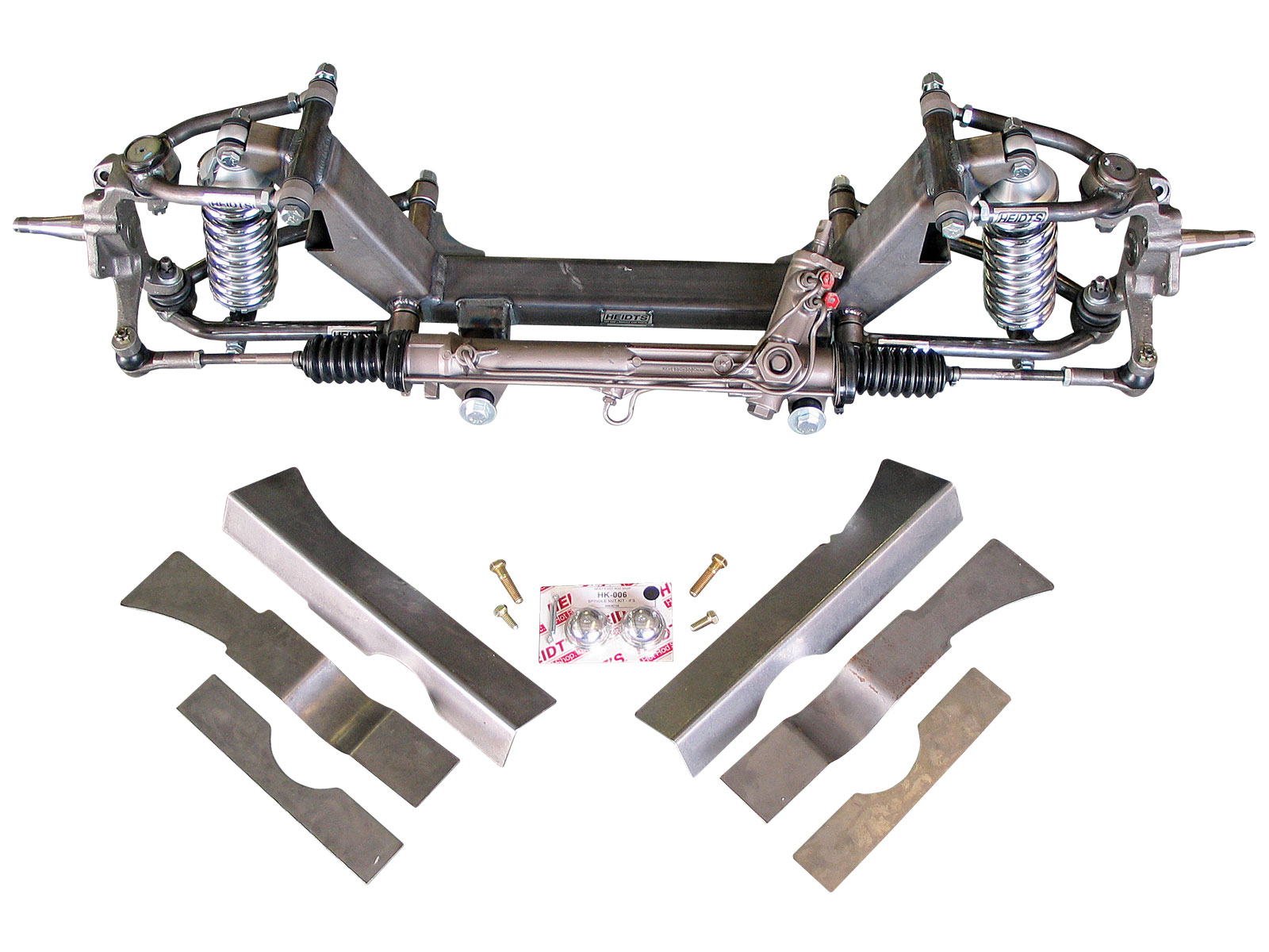 1968 Ford Mustang Heidts Superide Ii Suspension Kit