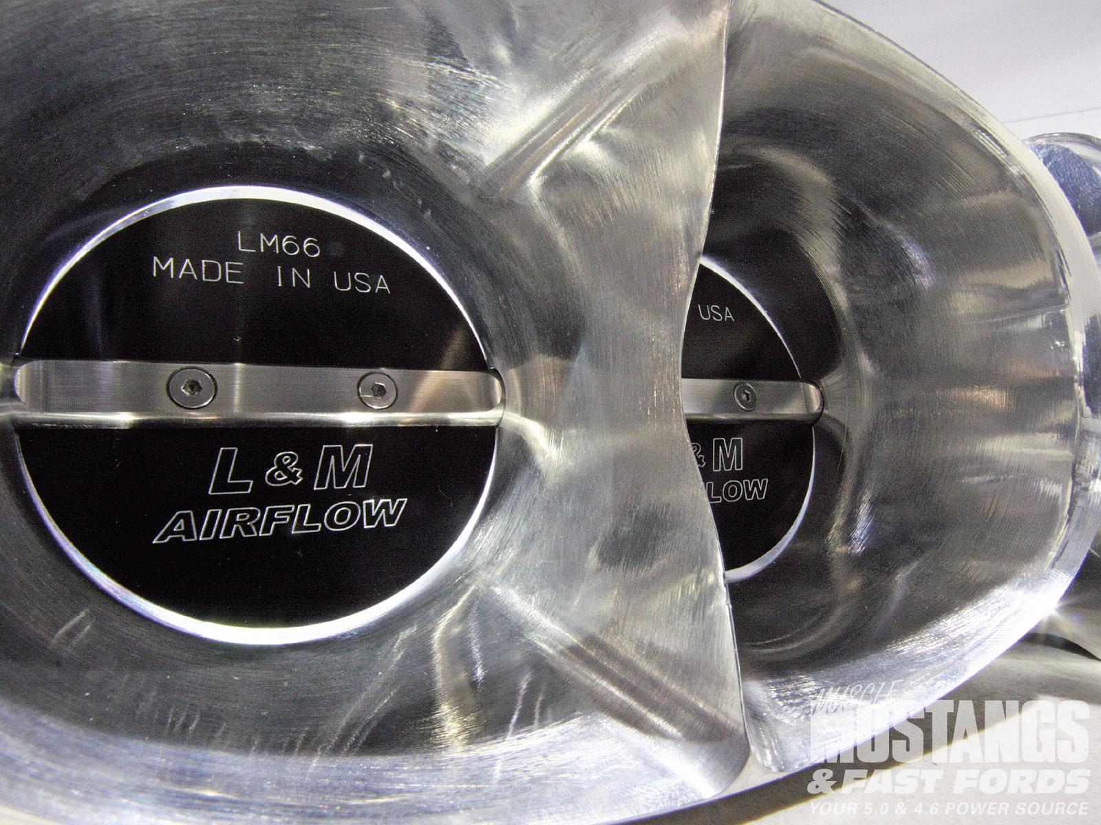 Mmfp 1011 05 O 2010 Shelby Gt500 Lm Airflow Dual Bore Throttle Body Vortex Generator