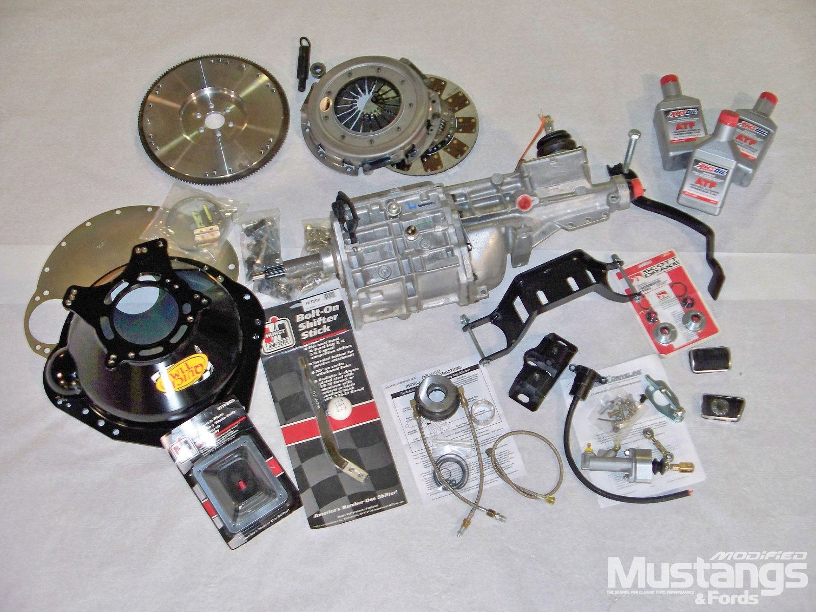 1969 Ford Mustang T5 Transmission Swap Rebuild Kit