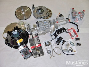 1969 Ford Mustang T5 Transmission Swap - Row Your Own - Tech