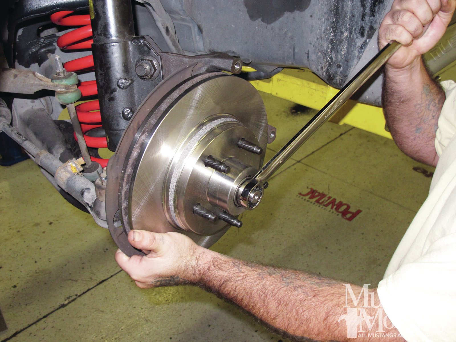 Mump 1202 How To Convert To Fox Body Five Lug Wheels 002