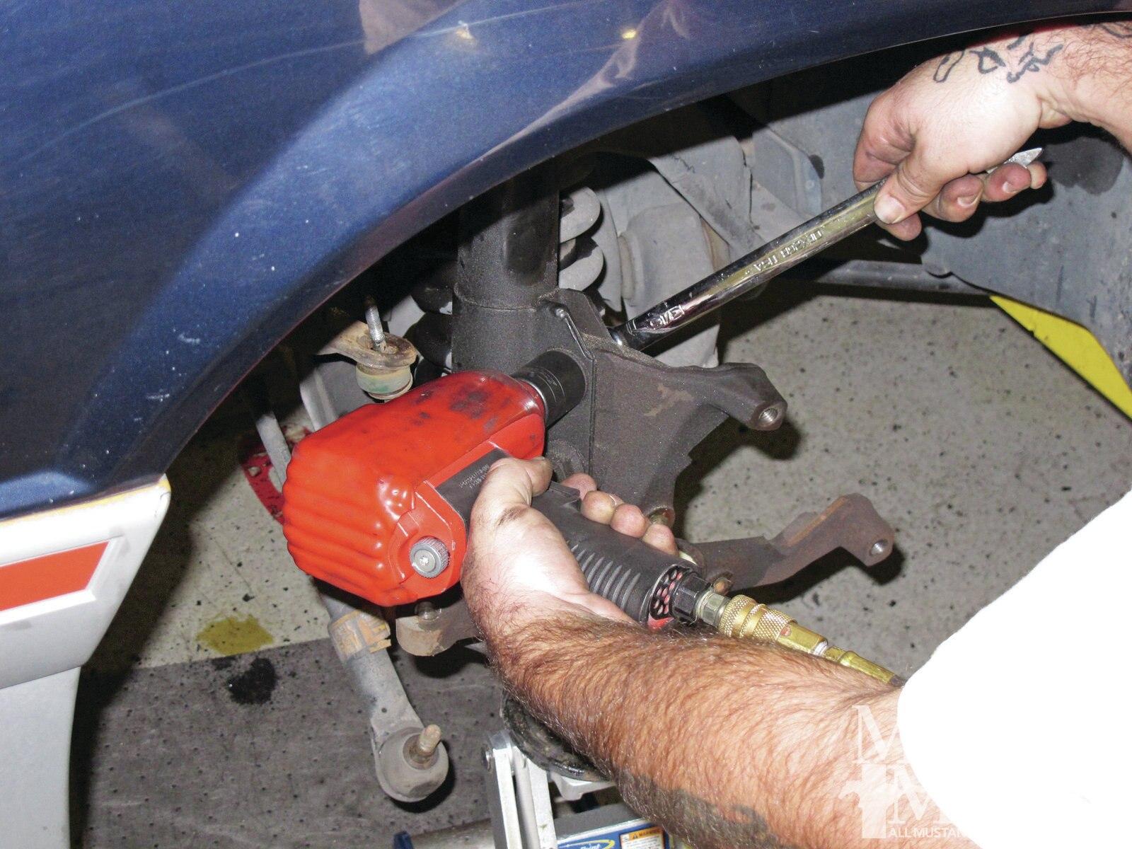 Mump 1202 How To Convert To Fox Body Five Lug Wheels 004
