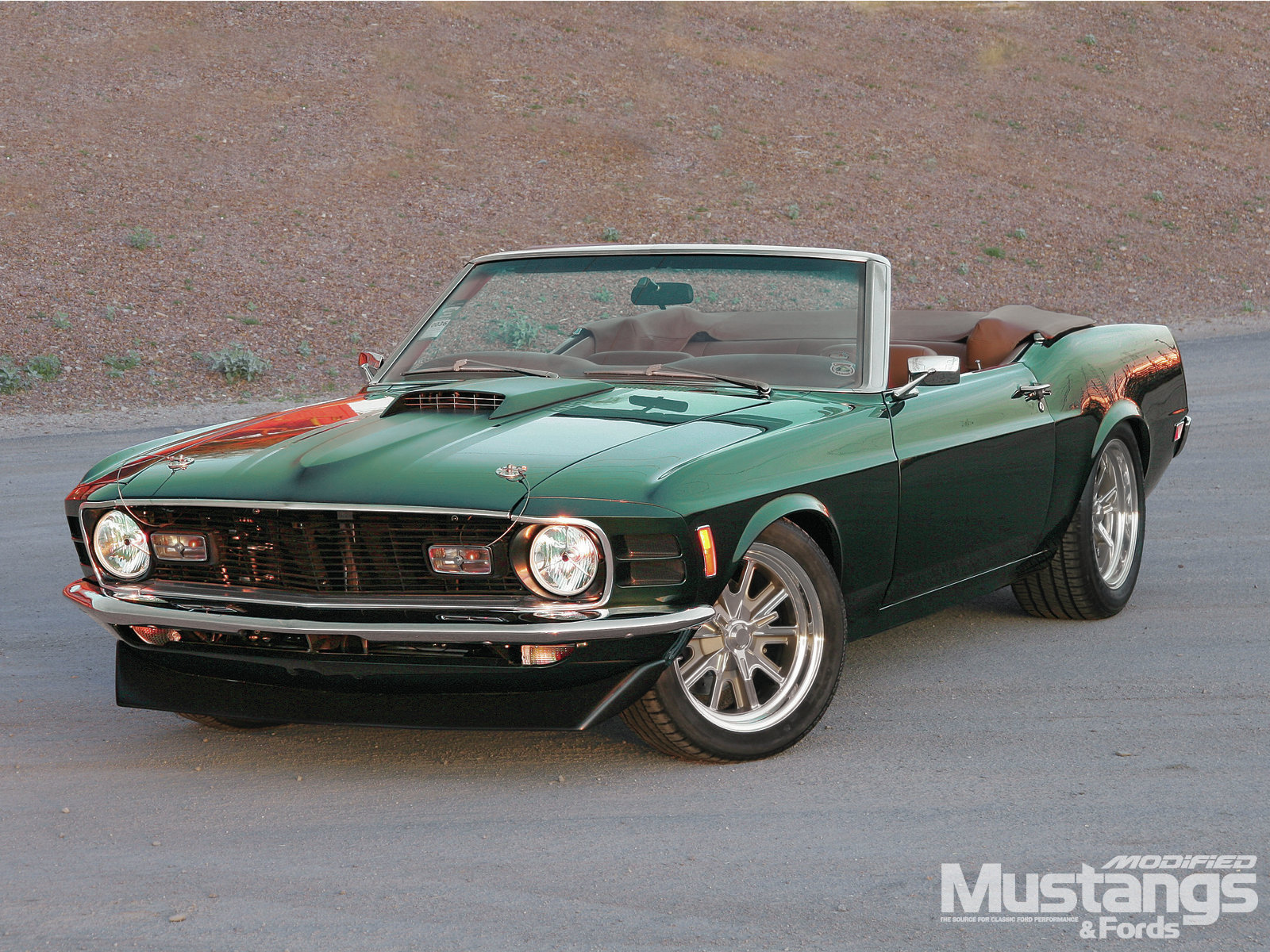 Mdmp 1202 1970 Ford Mustang Mean And Green 003