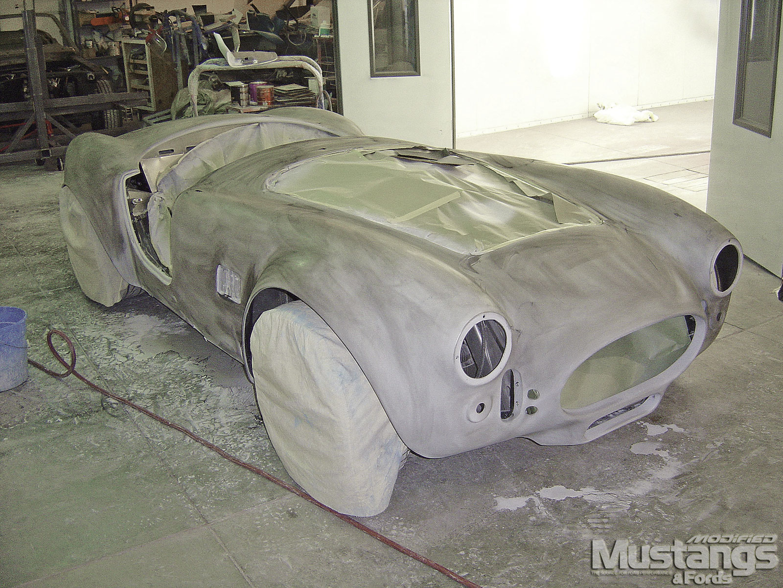 Mdmp 0804 13 Factory Five Roadster Build Part 17