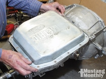 Ford Automatic Overdrive Transmission Installation - AAMCO