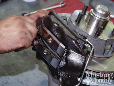 How To - Install Bolt-On Power Disc Brakes - Mustang Monthly