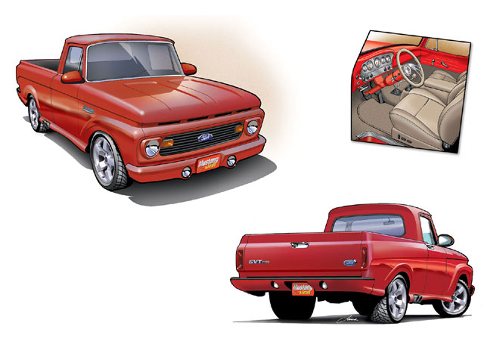 2003 Ford Lightning Drawings