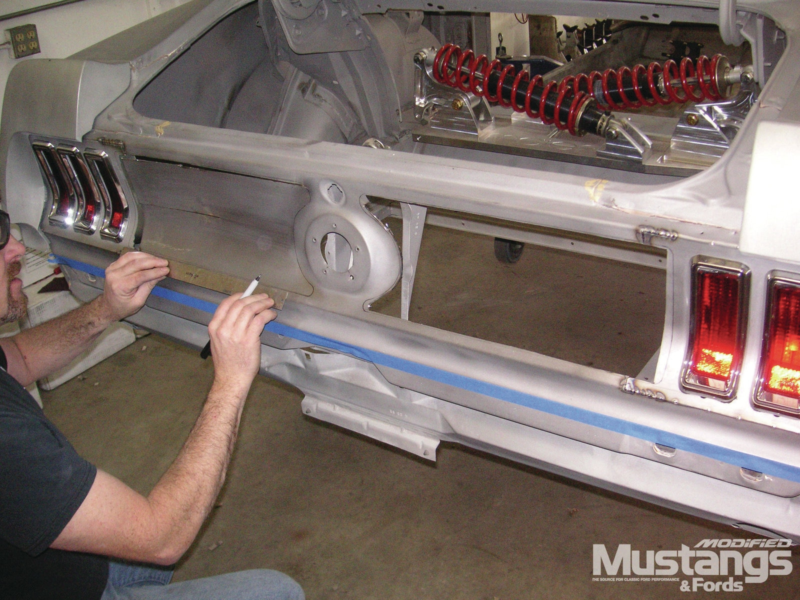 Build It Better Tips From The Pros 1969 Ford Mustang Rear
