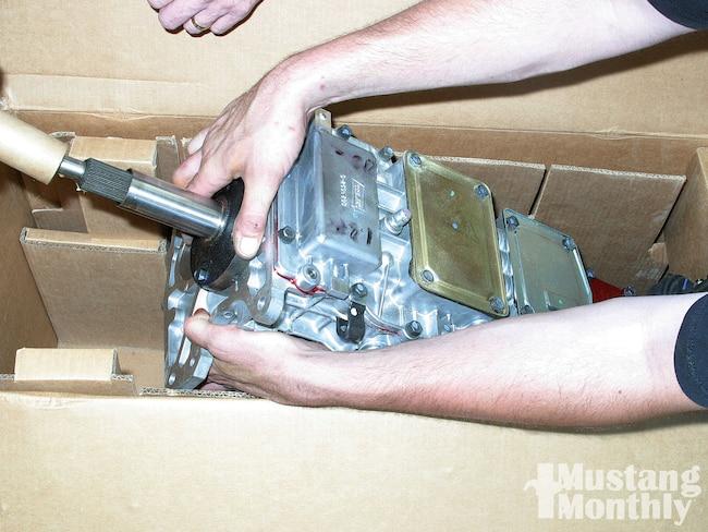 Mump 1012 01  Ford Mustang Overdrive Manual Transmission Transmission