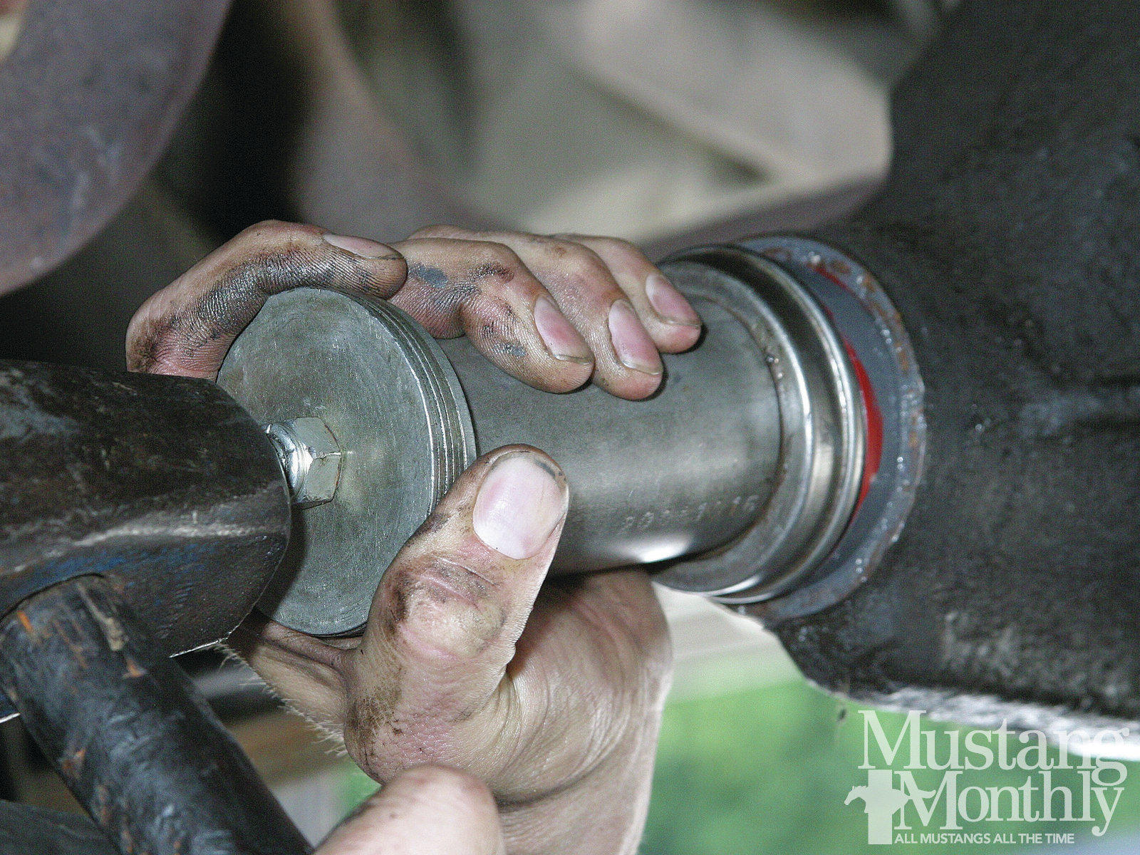Mump 1112 18 Replace Axle Seals Gaskets