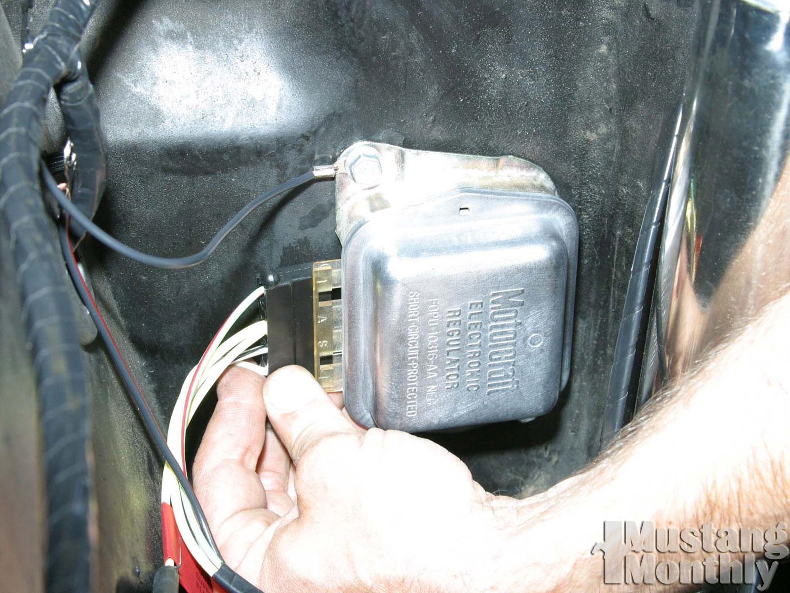 Mump 0401 60  Mustangs Plus Wiring Harness  Regular Ground