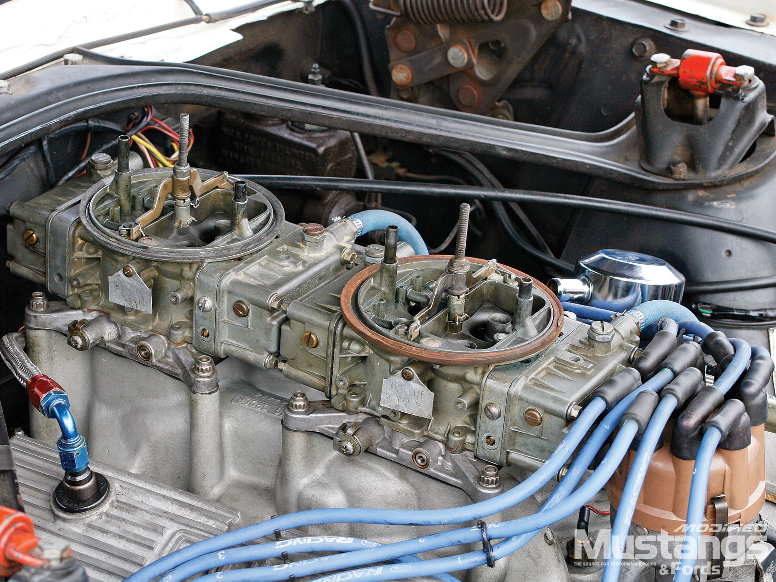 1966 Shelby Hertz Gt350h  Carburetors