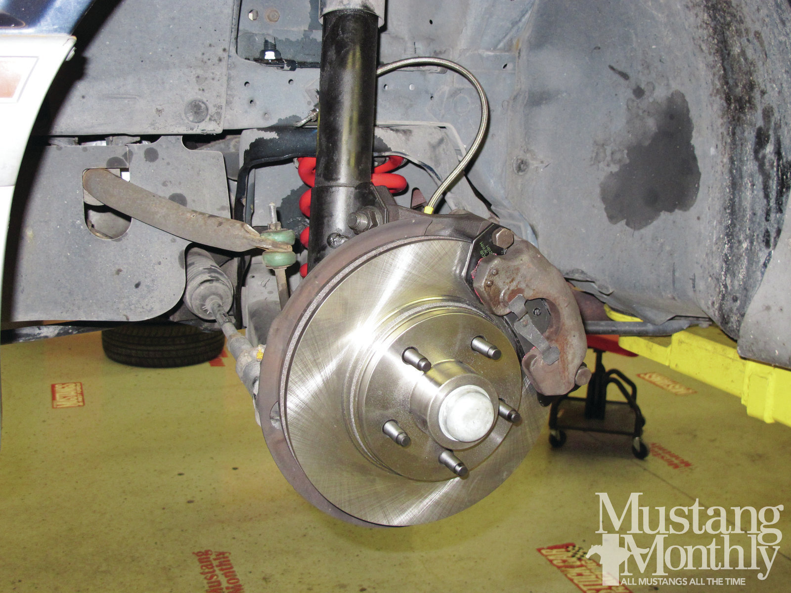 Mump 1202 How To Convert To Fox Body Five Lug Wheels 010